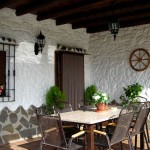Casa Rural El refugio de Laura Porche detalle